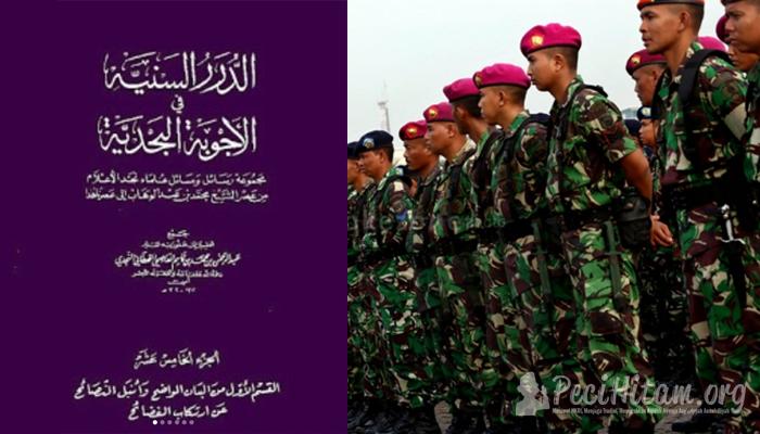 Memakai Seragam Tentara Termasuk Tasyabuh dan Bid'ah Dholalah