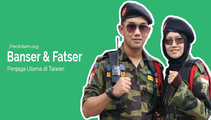 Sepasang Suami Istri Ini Bangga Jadi Banser dan Fatser di Taiwan