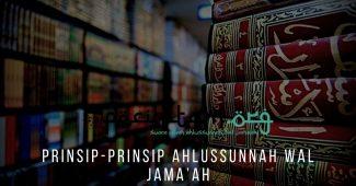 Prinsip-Prinsip Ahlussunnah Wal Jama'ah