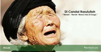 canda nabi pada nenek tua