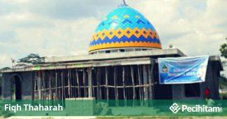 bangunan masjid dari najis