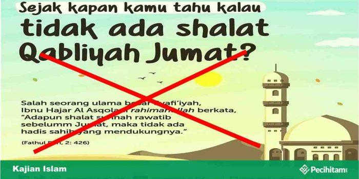 Shalat Sunnah Sebelum Shalat Jumat